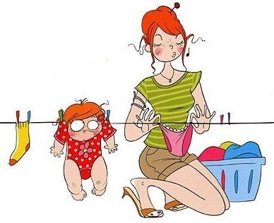 50 ilustraciones para reírnos desde el embarazo hasta la maternidad   Blog de BabyCenter