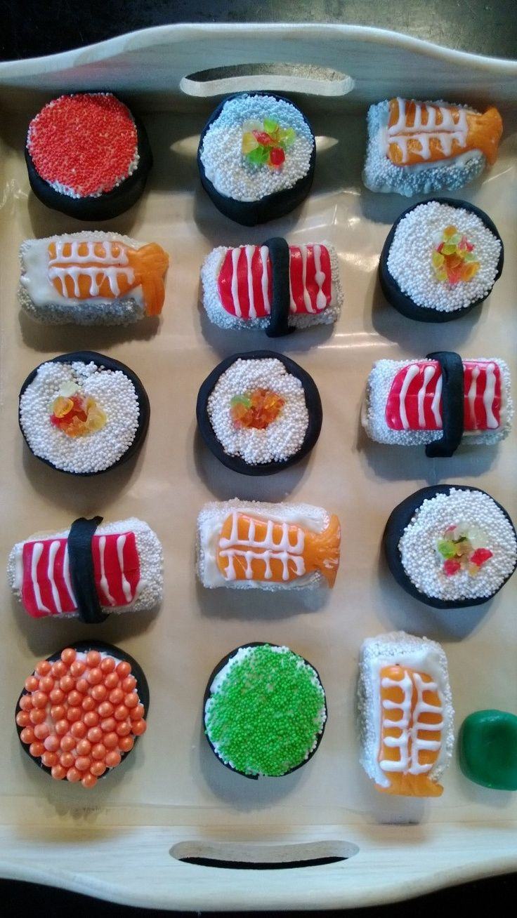 How to make sushi cake pops