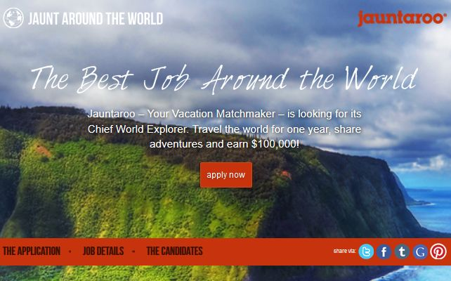 Jauntaroo | Your Vacation Matchmaker Cool website for vacation planning.