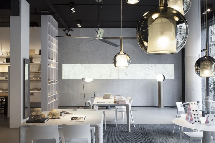 Neutra Flagship Store - Milan. #flagshipstore, #interiors, #architecturedesign, #interiordesign, #forniture, #stone, #furnishing, #design, #showroom,