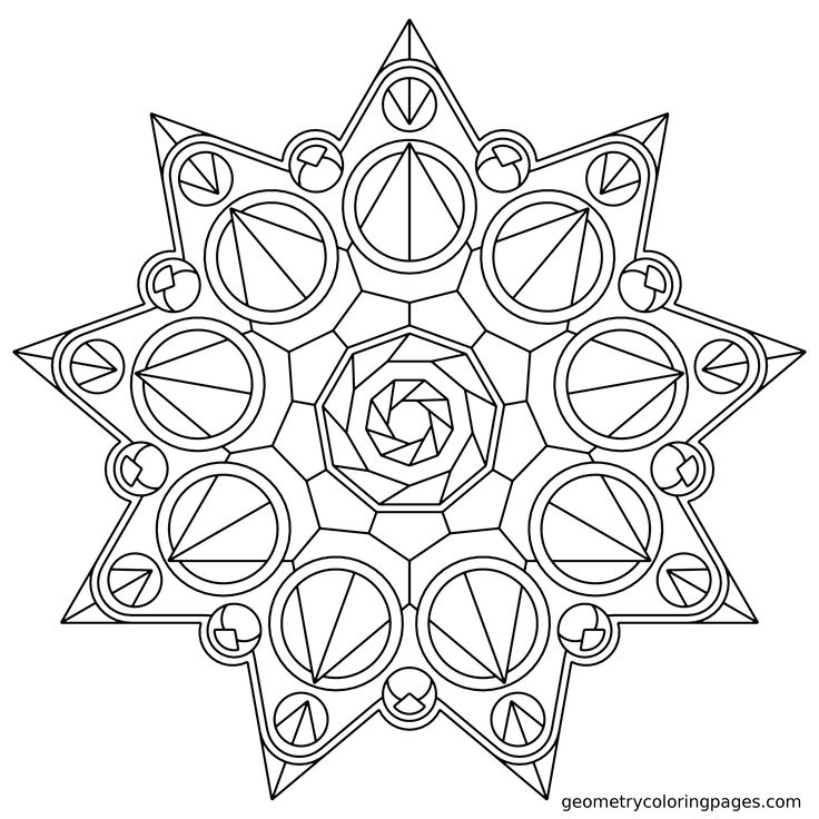 Geometric Art Coloring Book : 117 best patterns shapes images on pinterest