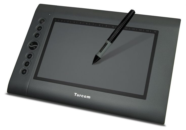 Amazon.com: Turcom TS-6610 Graphic Tablet Drawing Tablets and Pen/Stylus for PC Mac Computer, 10 x 6.25 Inches Surface Area 2048 Levels of Pressure Sensitive Surface with 8 Hot Keys, 4000 LPI Resolution, Ideal for Kids and Artists: Computers & Accessories