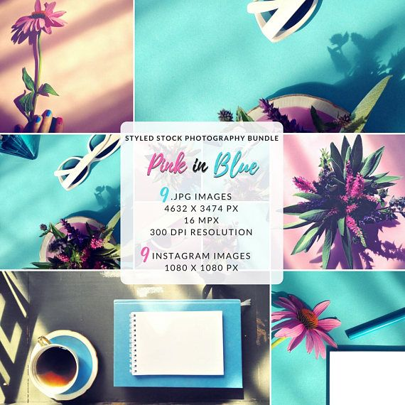Feminine lifestyle photography inspired by pastel candy palette with dominating pink and blue color. Colorful backgrounds with negative space for your text or design. Sunlight, fresh flowers and cup of coffee evoke easy and vivid atmosphere. This bundle is ideal for your products showcase, mood-boards, blog posts, or web sites! Create beautiful feed - I've precisely cropped and optimized for Instagram all images. Overlay with text or design, just be creative!