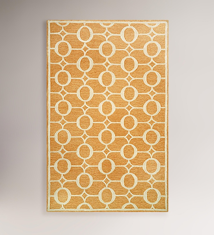 Orange Arabesque Indoor Outdoor Rug World Market