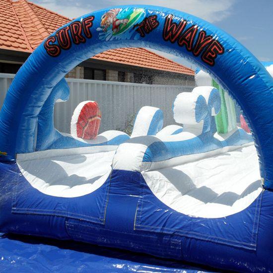 Surf the Wave  #bouncy #premium #castle #play #kids
