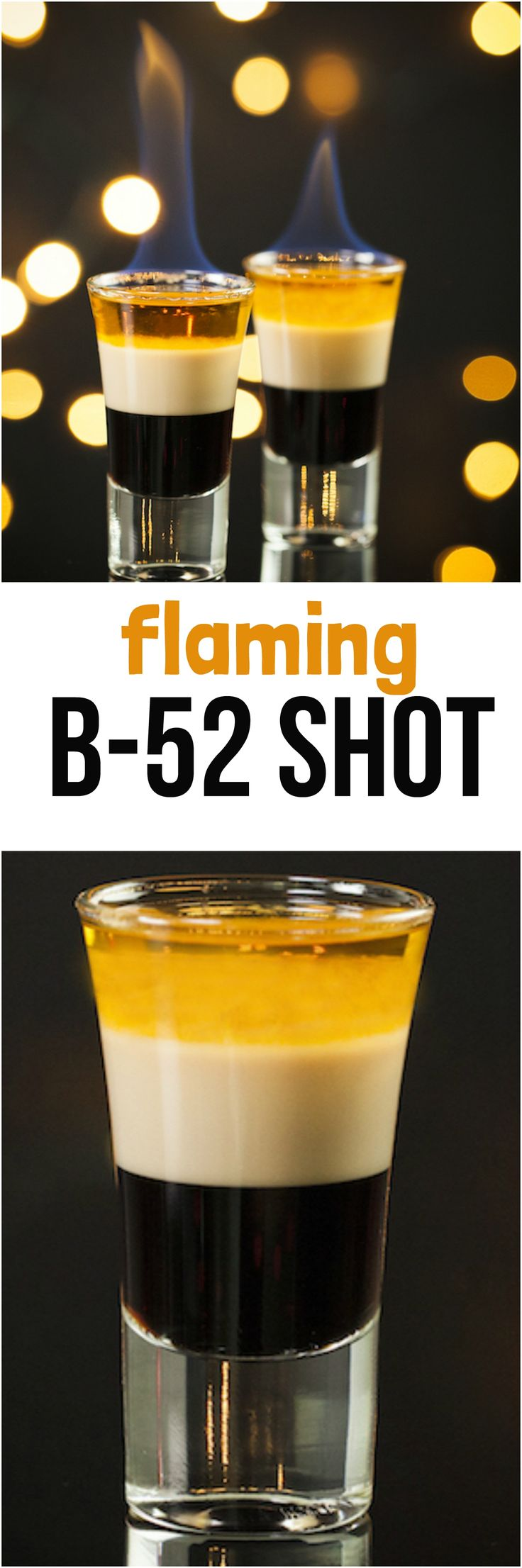 Sweet, creamy, and a little bit dangerous, the flaming B-52 shot has three layers and a conversation-starting backstory. We'll show you how to pour coffee liqueur, Irish cream, and orange liqueur just right to create a stacked shot that never bombs at parties.