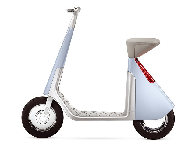 Concept only NO PRICE TAG. Electric scooter concept by GRO Design.
