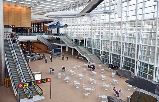 Sea-Tac Airport Arrivals Hall