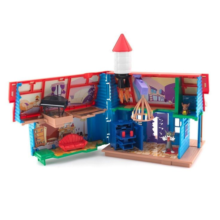 Tom And Jerry Tricky Trap House Playset Toy In 2019