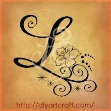 Letter L tattoo idea