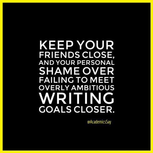 Keep Your Friends Close - Writers Write