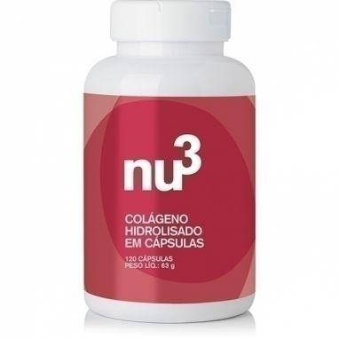 Clique para comprar Colágeno Hidrolisado, 120 Cápsulas, Nu3 Inteligent Food. Sem aromas artificiais. Sem adição de açúcar. Preço excelente – Natue