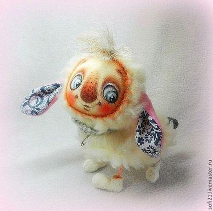 Барашка-удивляшка) - кукла,авторская игрушка,овечка,барашек,разные