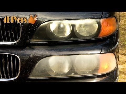 DIY: How to Polish Headlights with Toothpaste - YouTube