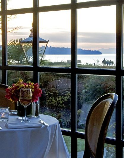 The Tea House, Stanley Park, Vancouver - Naomi from TD said it's a must for overall experience/views