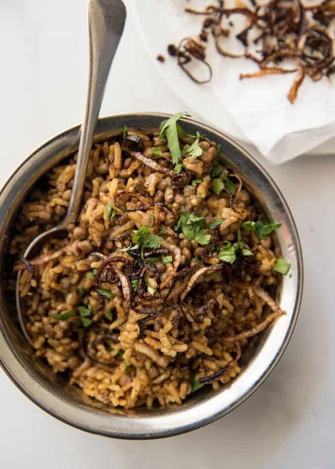 Middle Eastern Rice Mejadra