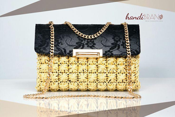 Chanel luxury..plastic csnvas..crochet bag..hamdibrand
