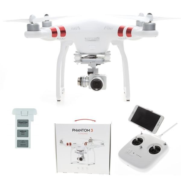 DJI PHANTOM 3 Standard RC Quadrocopter RTF mit HD Kamera -d-edition