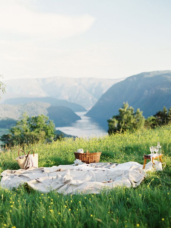 Norway - I say I'm a city girl at heart...but I could settle for this too