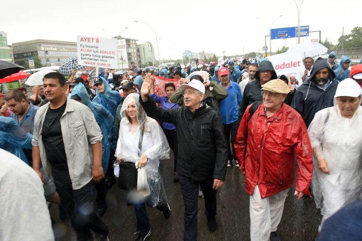 Öne Çıkan Başlıklar ve Fotoğraflar ile Adalet Yürüyüşü'nde 20'inci Gün