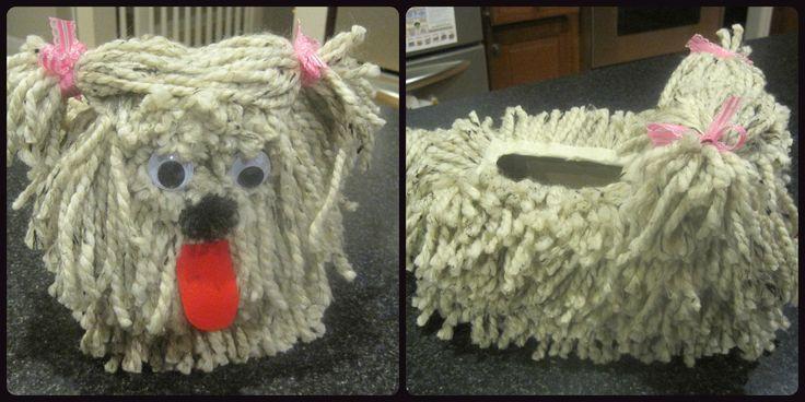 Puppy dog valentine box collage_2