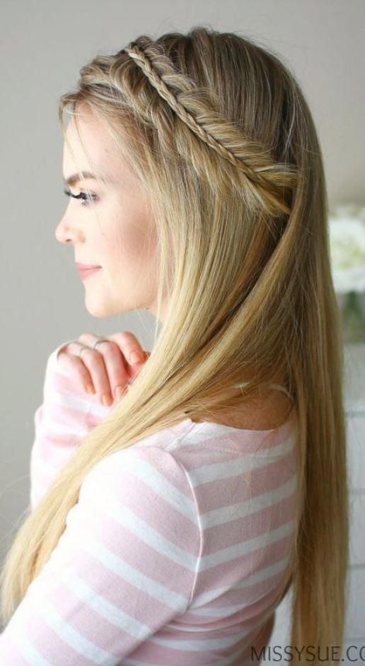 Sophisticated Straight Wedding Hairstyles - Beautiful ...