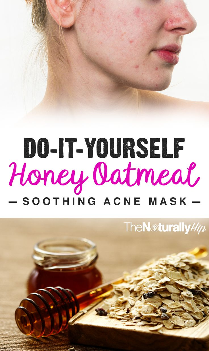 DIY Honey Oatmeal Soothing Mask | Never knew oatmeal was so good for your skin... WOW!