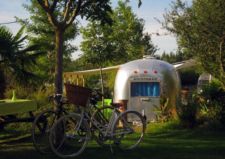 Airstream Trailer Park Hotel - France