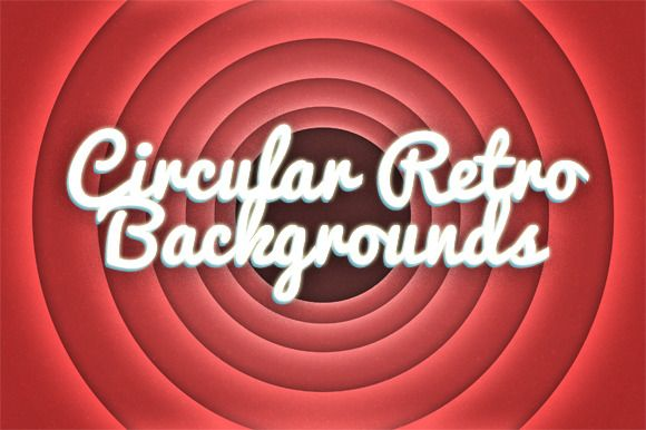 Check out 10 Circular Retro Backgrounds by themangustas on Creative Market