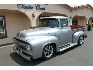 Very nice steel-bodied F100 love a good pickup. 1956 Ford F100 for : are fords good cars - markmcfarlin.com