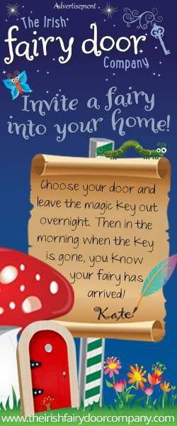The Irish Fairy Door Company - a little bit of Irish magic in your home.