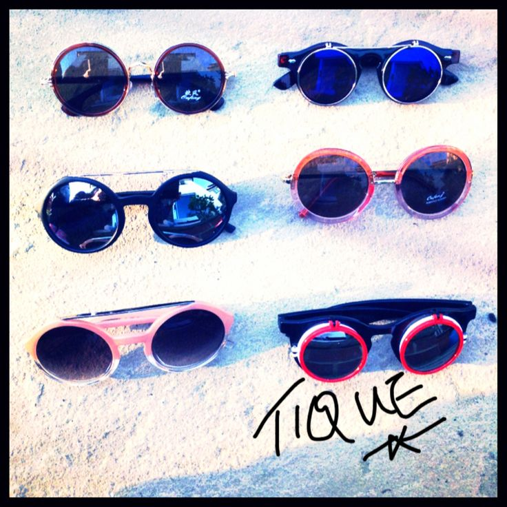 Choice of sunglasses in the sunshine, buy now at TIQUE