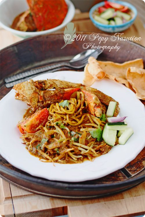 Mie Kepiting Aceh (Fried Noodle with Crab)