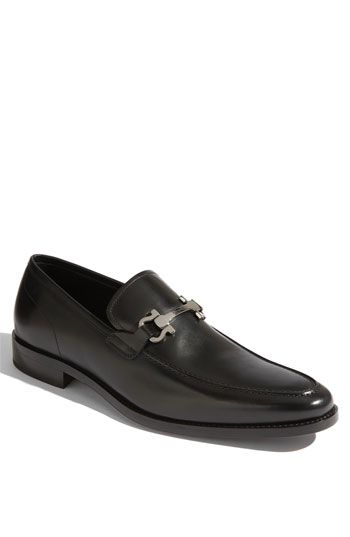 Salvatore Ferragamo 'Clay' Loafer available at #Nordstrom (I like loafers  something you can just slip on)