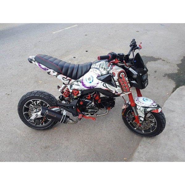 Honda Grom MSX125 Low Mount Exhaust PR2  #msx125 #grom #hondagrom #hondamsx125 #honda #grom125 #msx125sf