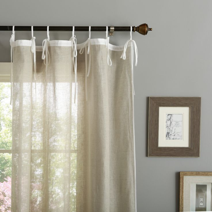 Opting for Linen Drapes to Decorate Your Window Area