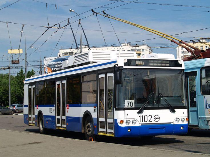 ♥♦♥ LiAZ-5280 (2005–2012), trolleybus based on LiAZ-5256 | #LiAZ_5280 OLYMPUS DIGITAL CAMERA