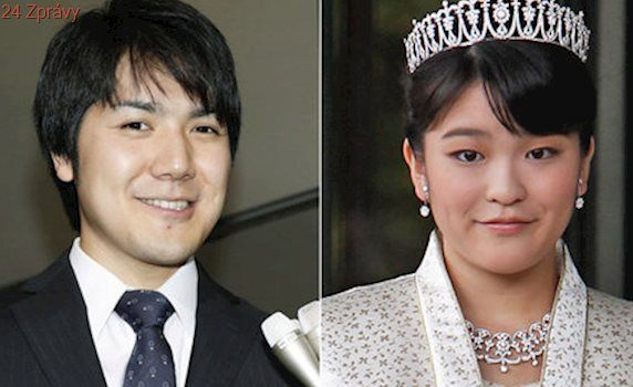 Japonskou princeznu vyloučí z královské rodiny za lásku k neurozenému muži