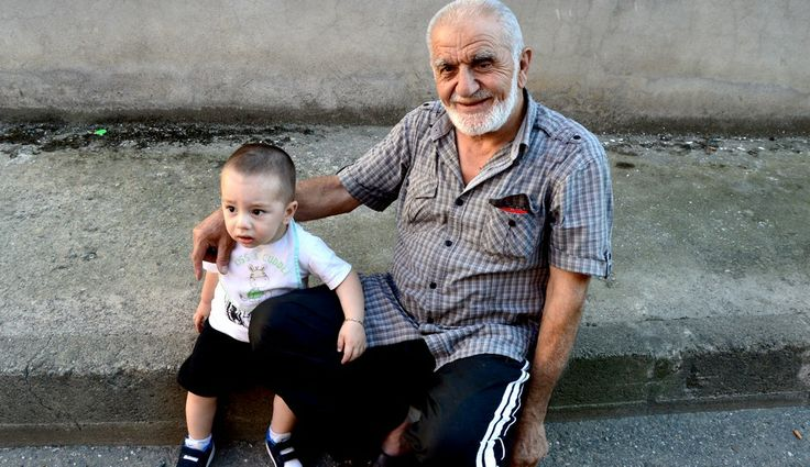 The Grand-grand Father & The Little-little Son .. They're Blessed