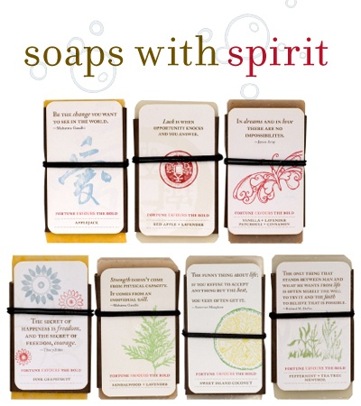 Soap with Spirit Variety