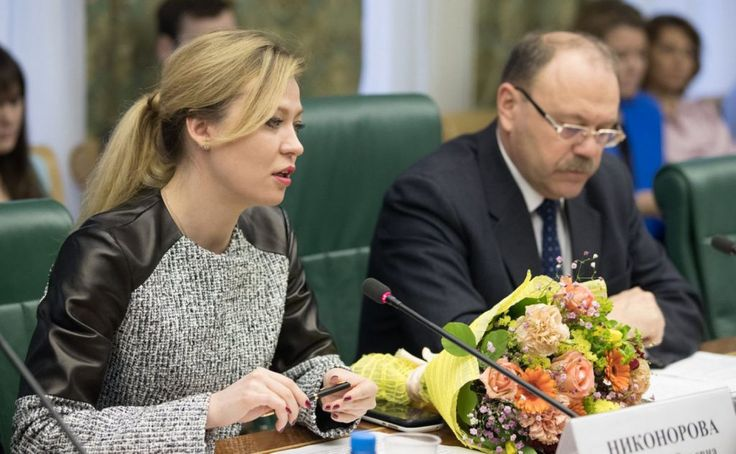 Donetsk News Agency, March 7, 2017    Acting Foreign Minister Natalia Nikonorova of the Donetsk People's Republic explained the DPR's Donbass reunification humanitarian programme at a round table meeting at the Federation Council upper house of t