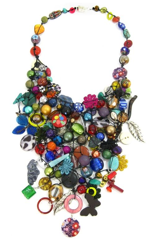Collectors Piece by Marzipan.Handknotted one of a kind statement Piece. Made to Order