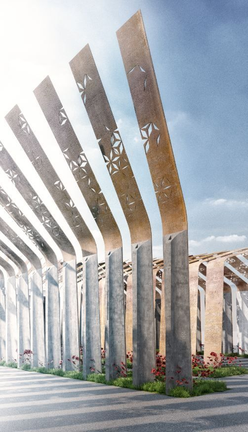Ryhan Villa Complex Gate Winning Proposal / Waltritsch a+u + Rndr Studio