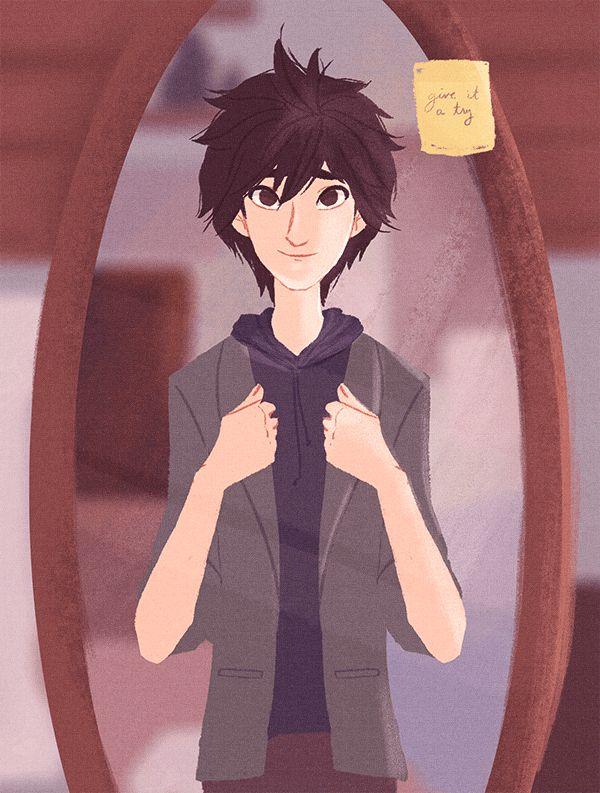 retro air jordans 12   34 Older Hiro trying on Tadashi  39 s blazer  34   In other news  I am a puddle