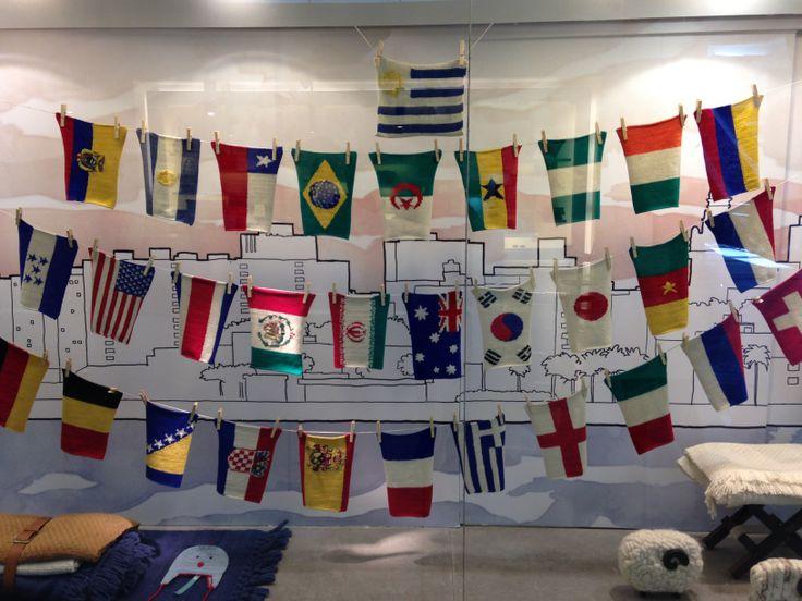 Manos del Uruguay - Vidriera Mundial 2014