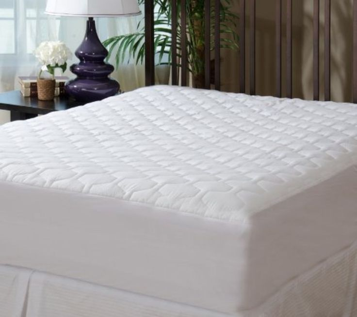 18 Mattress Pad Cover Ed Quilted King Size Bedding Sheet Protector