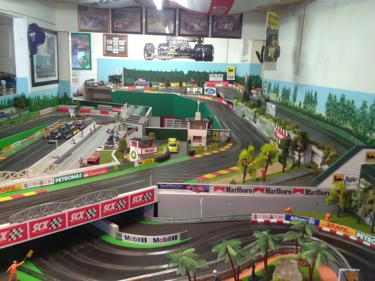 615 Best Slot Car Tracks Images On Pinterest Models Chairs And Iron