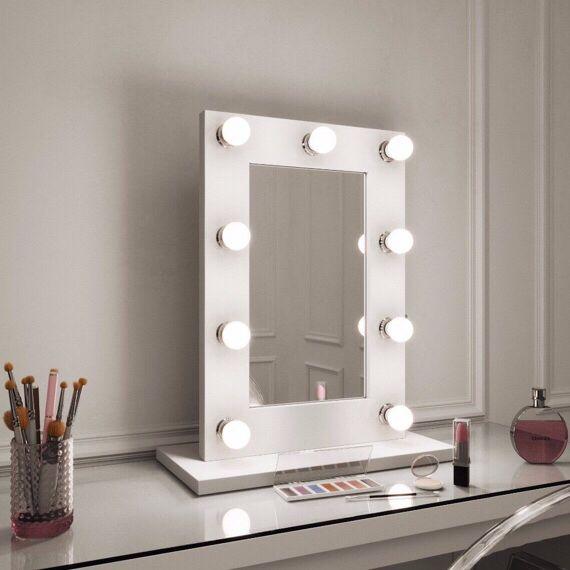 Gwenyth Hollywood Mirror Illuminated Make Up Mirror With Lights Bathroom Mirror Storage Bedroom Mirror Dressing Table Mirror