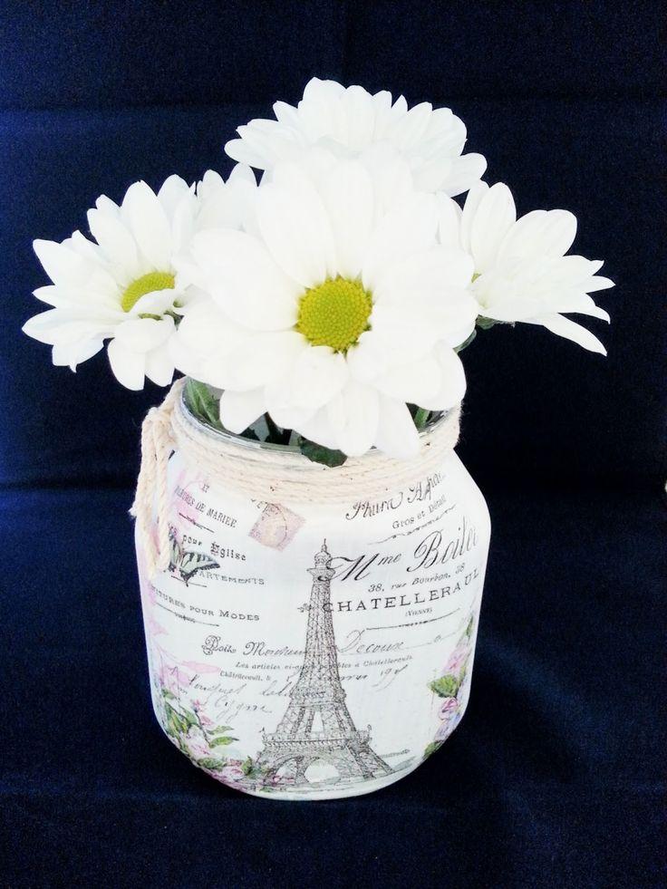 Recycled Paris Jar | Milk with Honey