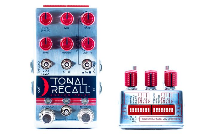 Tonal Recall Red Knob Mod « Chase Bliss Audio